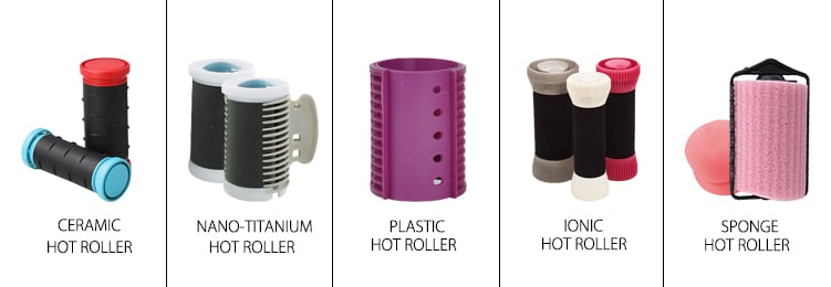 materials of hot rollers