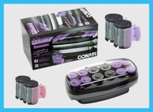 Conair Xtreme Instant Heat Jumbo And Super Jumbo Hair Setter With Super Clips