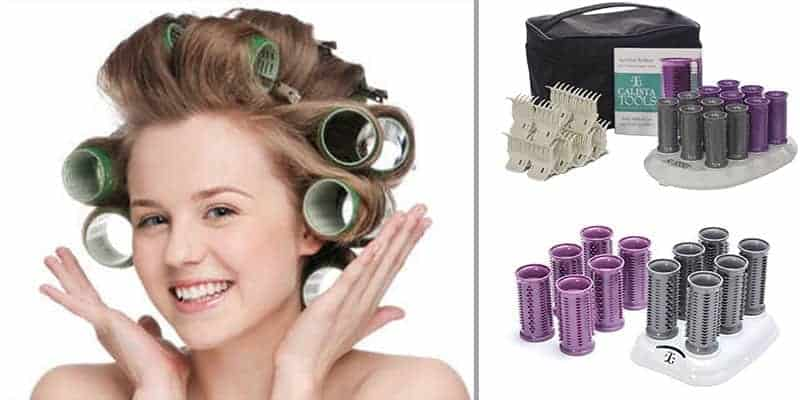 Using hot rollers