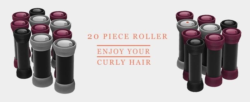 Remington H5600D - 20 Piece Roller Set