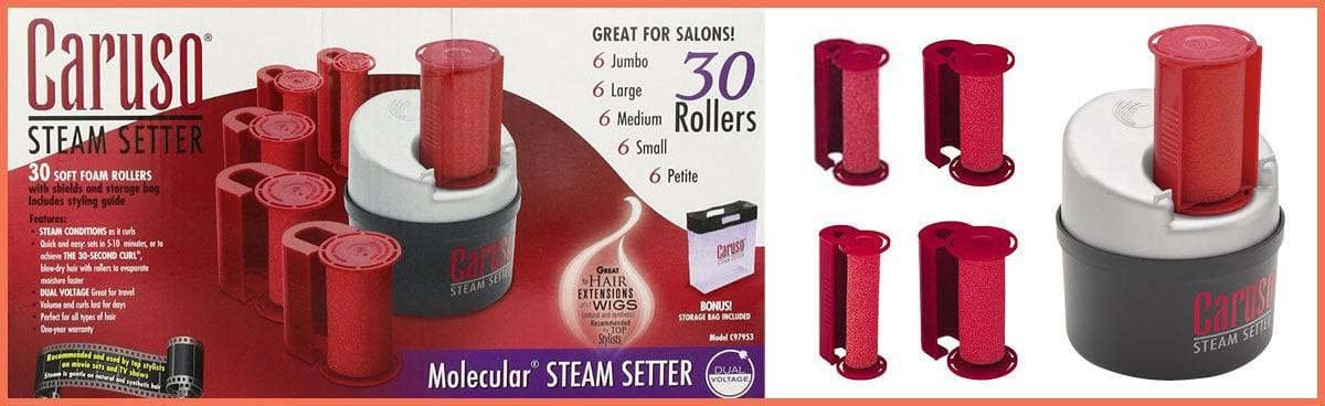 Caruso C97953 Molecular Steam Hair Setter