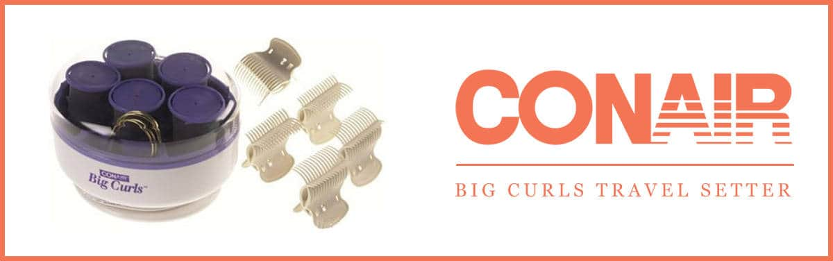 Conair Big Curls Travel Setter