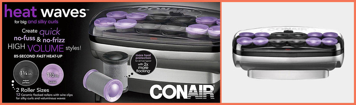 Conair Xtreme Instant Heat Jumbo and Super Jumbo Hair Setter