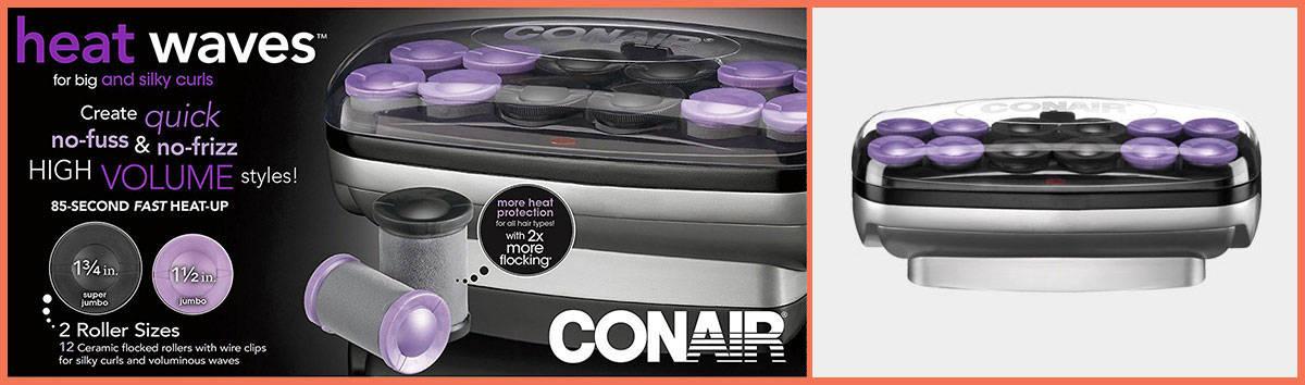 Conair Xtreme Instant Heat Jumbo and Super Jumbo Hair Setter