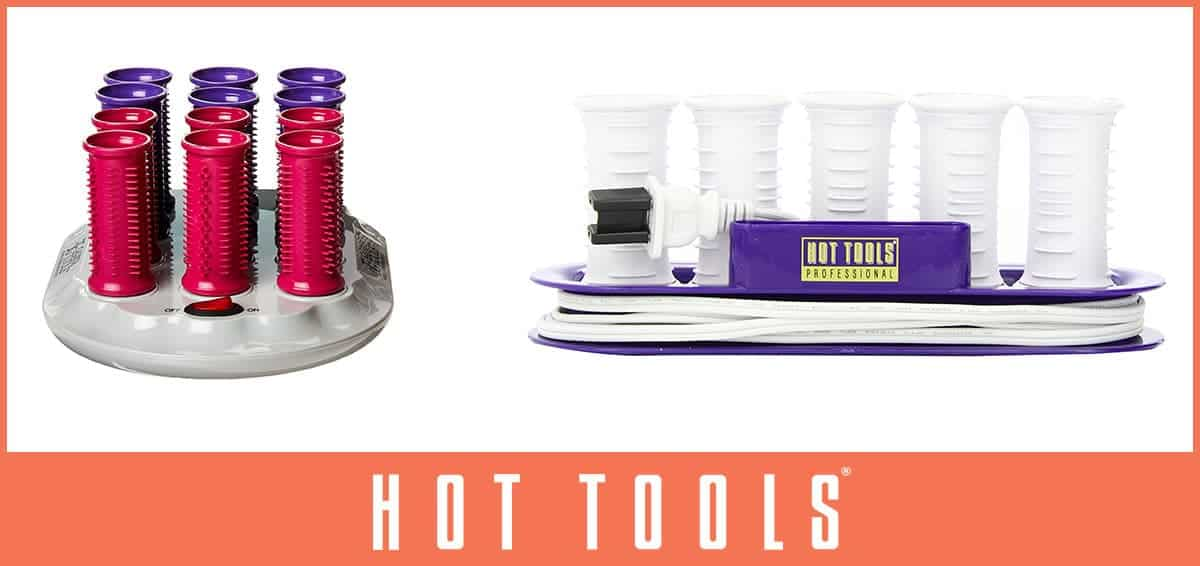 Hot Tools hair rollers