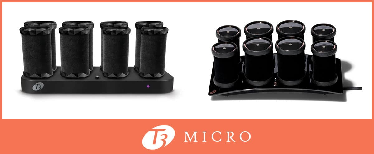 T3 Micro hot rollers