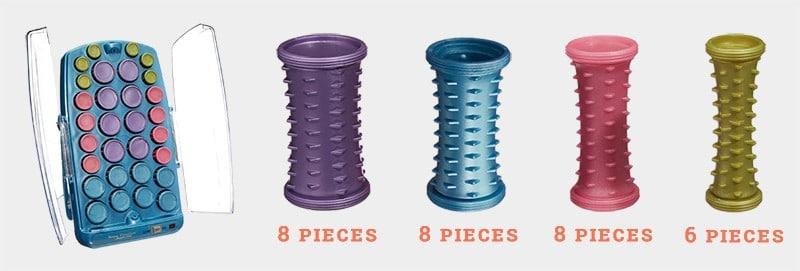 30 Piece Roller Set Of BabylissPRO Nano Titanium Professional Ionic 30-Roller Hair Setter