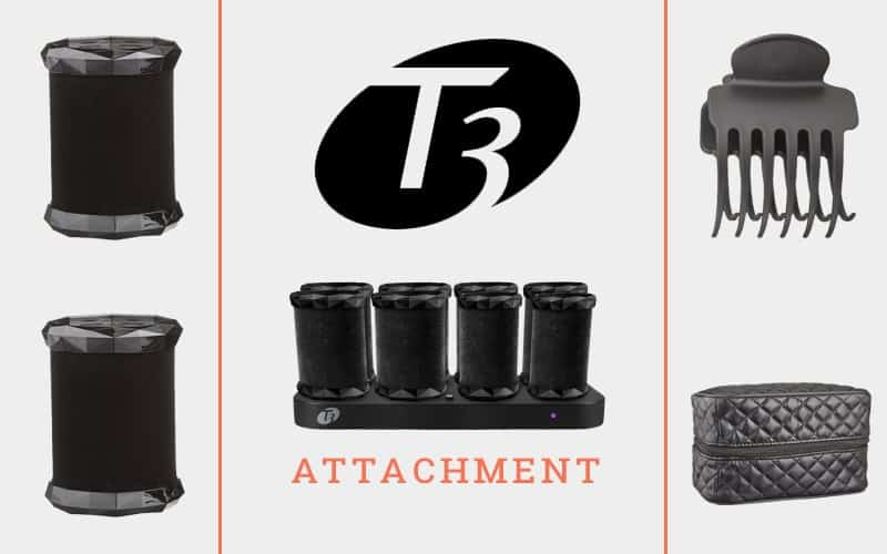 Attachment Of T3 Voluminous Hot Rollers