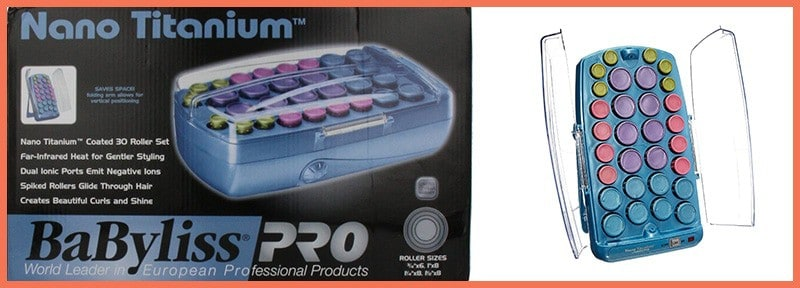 Featured image of BabylissPRO Nano Titanium Professional Ionic 30 Roller Hair Setter Review