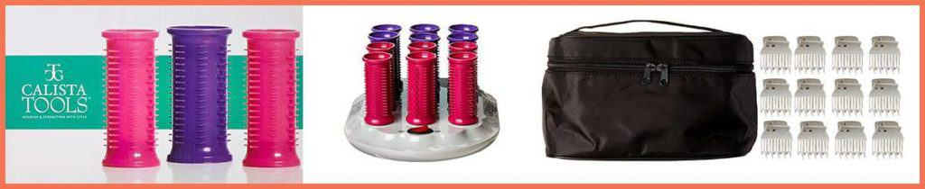 Calista Tools Ion Hot Rollers (Short Style Set)