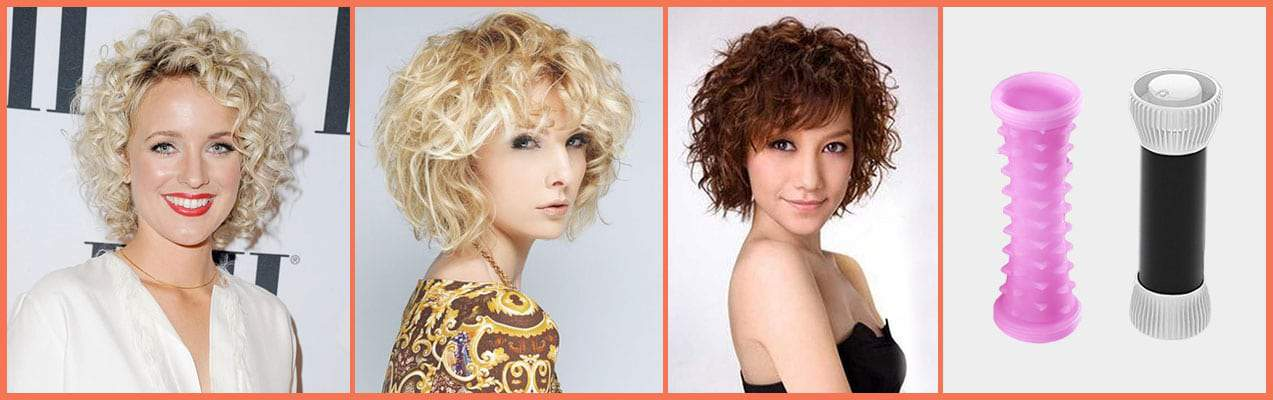 Hot Roller Hairstyles for Short Hair