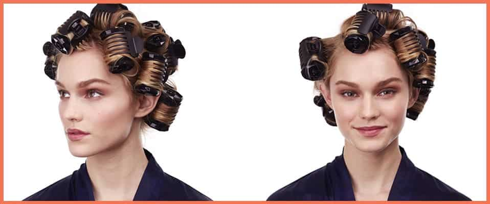 hair roller cooling