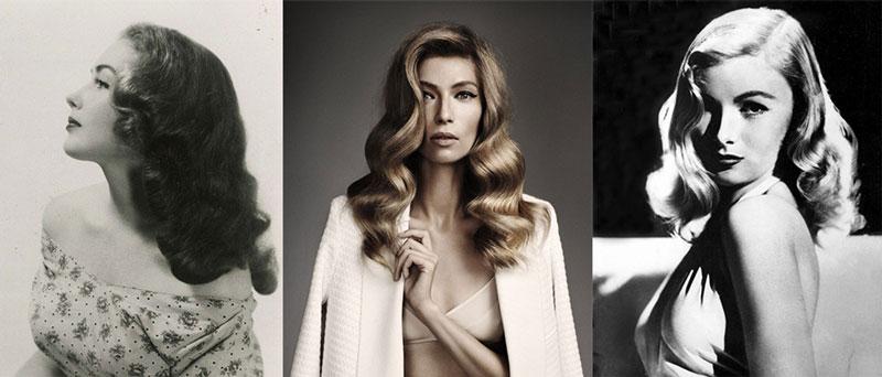 1940s vintage wave Hairstyles