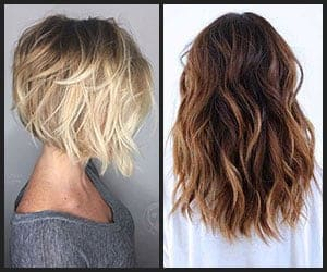 Short & Medium to Long Hair