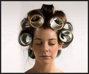 3 Inch hair rollers