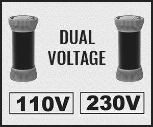 Dual voltage hot rollers