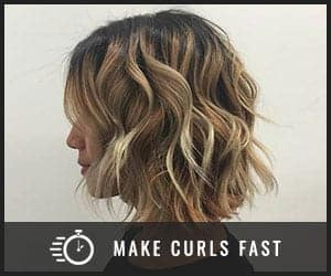 Get fast beautiful fine hair curls