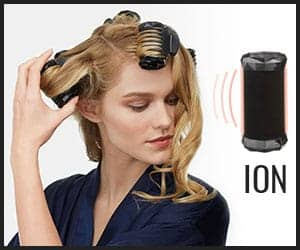 Hot roller with Ionic technology