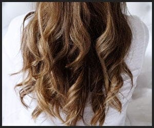 Long lasting fine hair curls