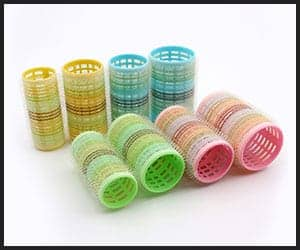 Plastic hot rollers