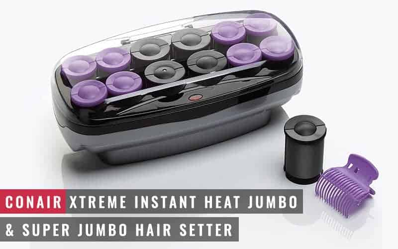 Featured Image of Conair Xtreme Instant Heat Jumbo & Super Jumbo Hair Setter
