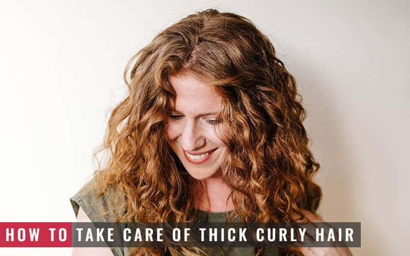 Featured Image of How to Take Care of Thick Curly Hair