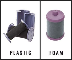 Materials of Revlon Hot Rollers