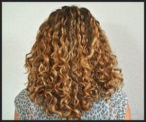 Moisturized Curly Hair