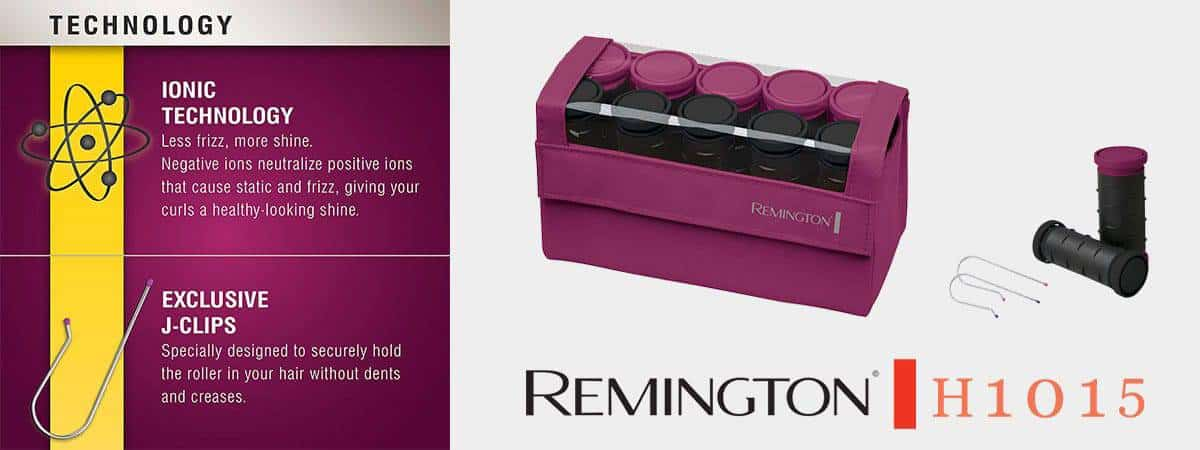 Remington H1015 Compact Ceramic Worldwide Voltage Hair Setter - V1 Jan