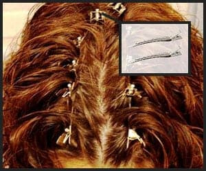 Sectioning Hair With Duckbill Clips