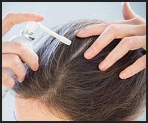 Using Hair Lotion