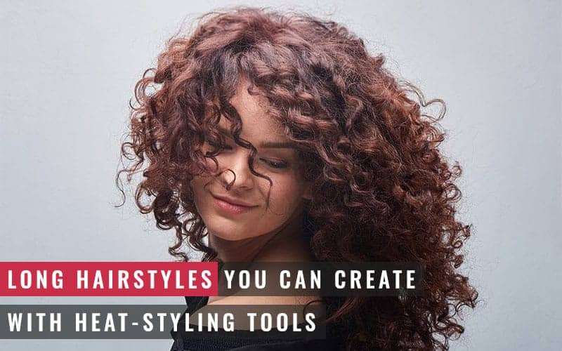 Featured Image of Long Hairstyles You Can Create With Heat-styling Tools