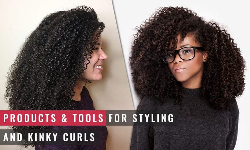 Featured Image of Products and Tools for Styling Tight & Kinky Curls