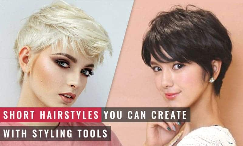 Featured Image of Short Hairstyles You Can Create With Styling Tools