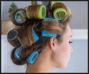 Using Hot Rollers for Volume