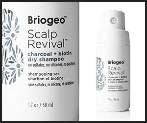 Briogeo Scalp Revival Charcoal and Biotin Dry Shampoo