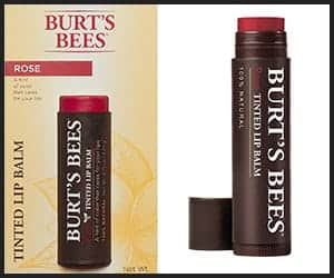 Burt's Bees Natural Tinted Lip Balm