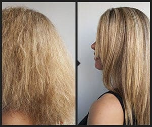 Dry Hair to Smooth Hair