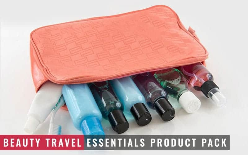 Featured Image of Beauty Travel Essentials Product Pack