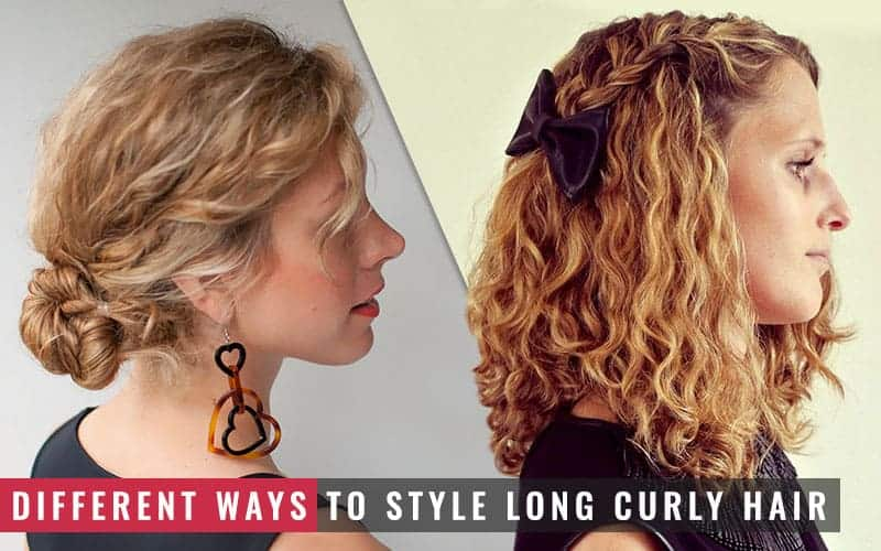 Featured Image of Different Ways to Style Long Curly Hair