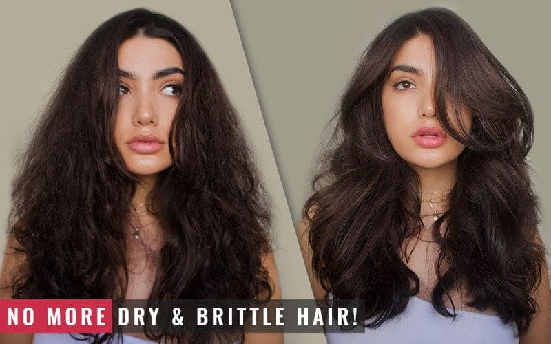 Featured Image of No More Dry and Brittle Hair
