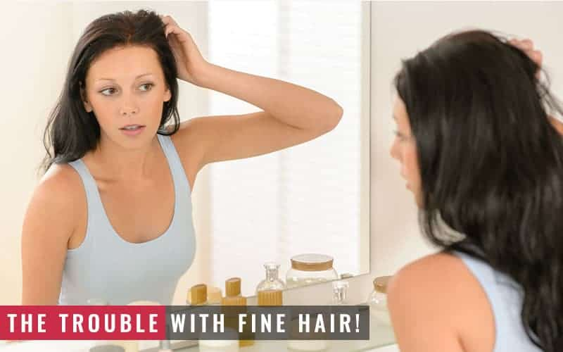 Featured Image of the Trouble With Fine Hair