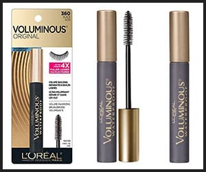 L'Oreal Paris Makeup Voluminous Waterproof Mascara