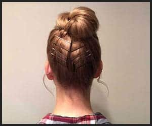 Accessorized Top Knot