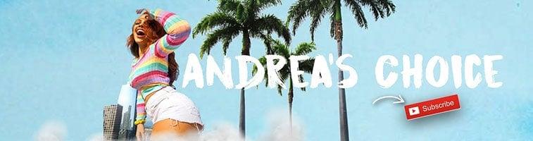 Andrea's choice Youtube Banner