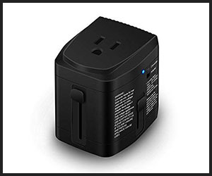 Bonazza All in One Travel Adapter and Voltage Converter