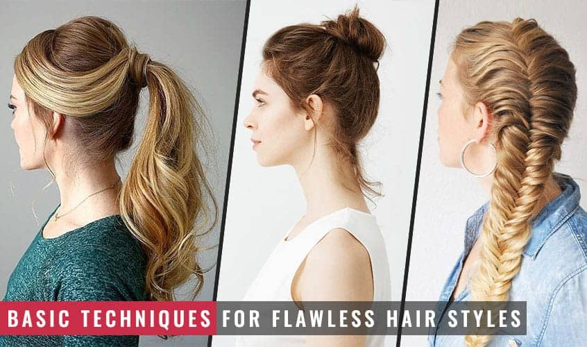 Featured Image of Basic Techniques for Flawless Hair Styles