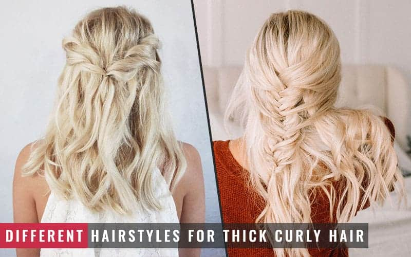 Featured Image of Different Hairstyles for Thick Curly Hair