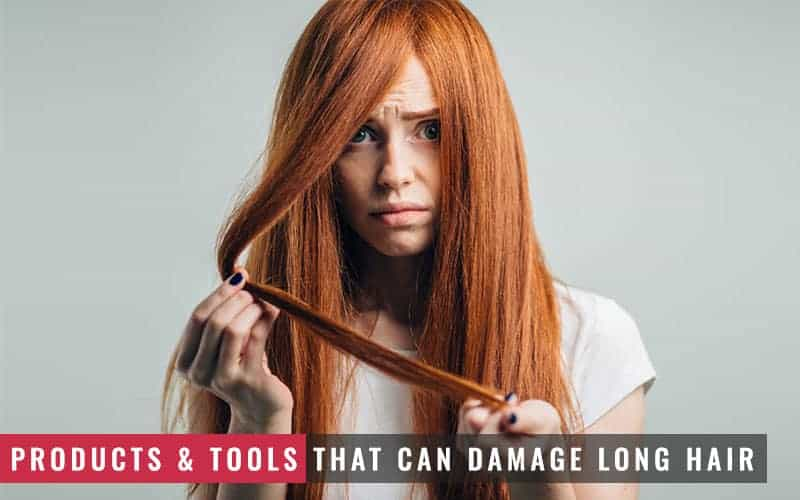 Featured Image of Products and Tools That Can Damage Long Hair