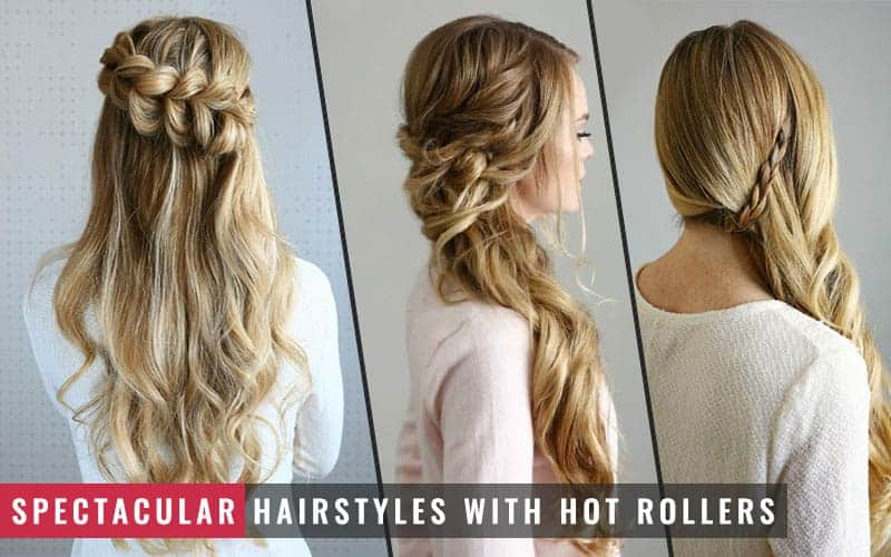 Featured Image of Spectacular Hairstyles With Hot Rollers